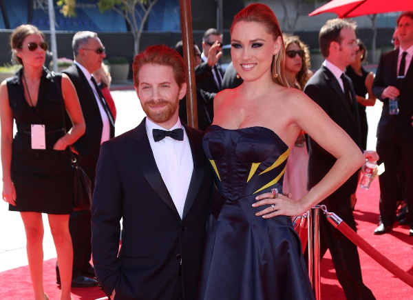 Seth-Green-and-his-taller-wife