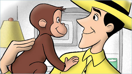 Creepy Children's Programming Reviews: CURIOUS GEORGE (1/2)