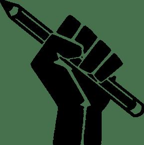 Pen Solidarity Fist